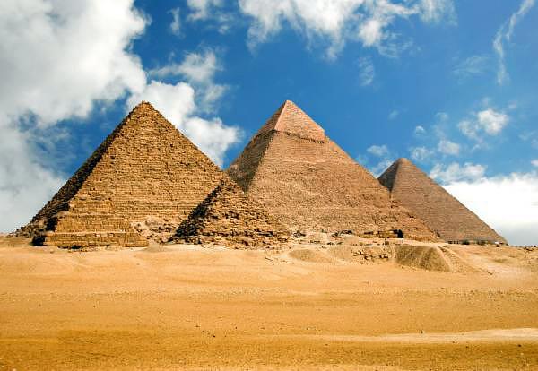 Пирамиды Гизы. Египет