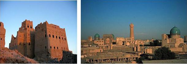 Мариб, глинобитный город в Йемене