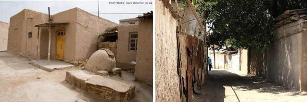 Дувал — глинобитный забор или стена в Средней Азии, отделяющая внутренний двор местного жилища от улицы.