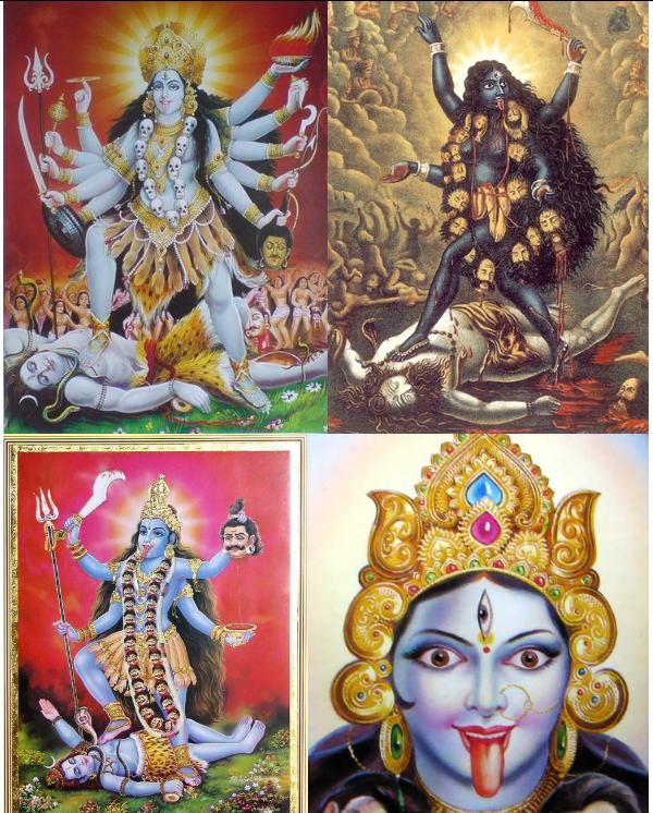 Лики богини Кали