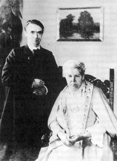 Рудольф Штайнер и Анни Безант (1847-1933). Мюнхен, 1907