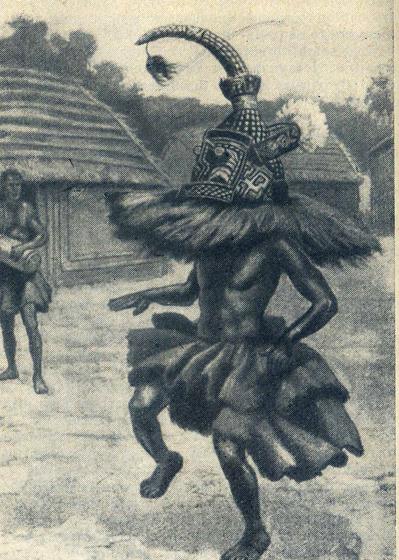 Адепт тайного союза (Нижнее Конго)