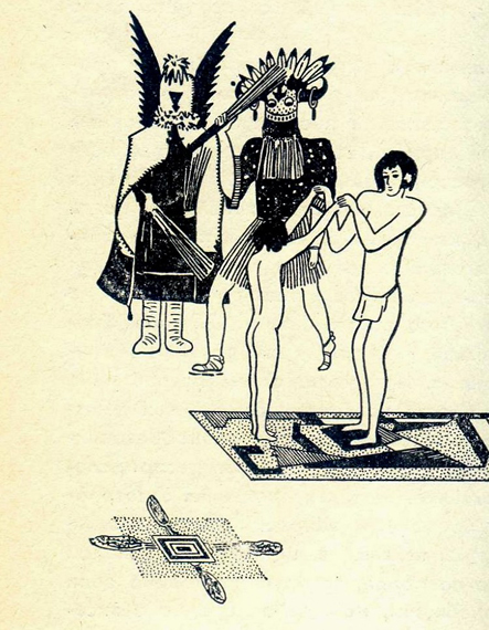 Инициация индейцев хопи