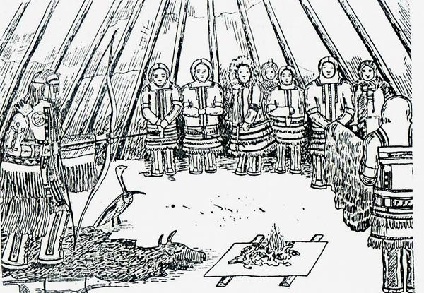 Ритуальная стрельба из лука
