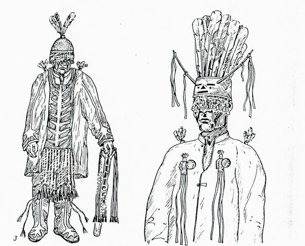 Тувинский шаман