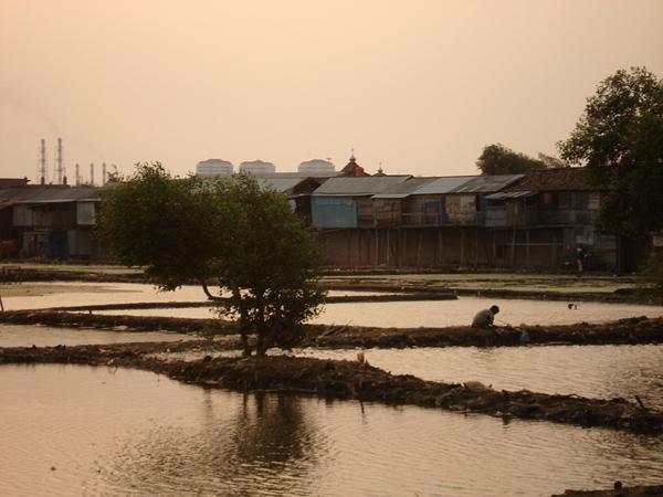 окраина Джакарты
