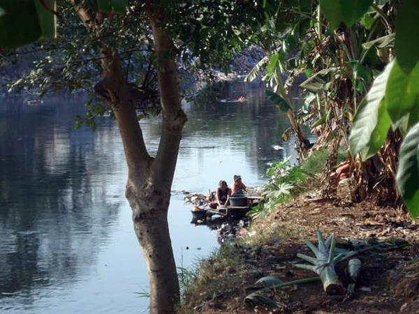 Речка Чилива, Индонезия, Джакарта