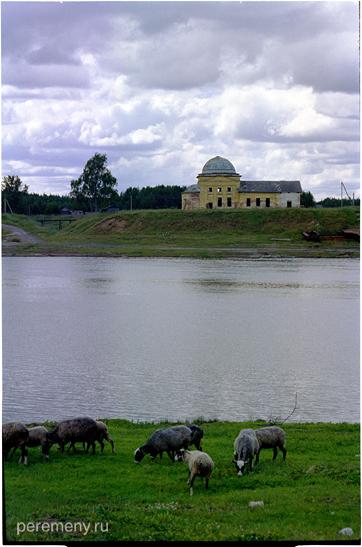 Переправа у Черепанихи. Фото: Олег Давыдов