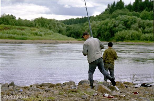 Рыбалка на Сухоне. Фото: Олег Давыдов