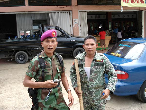 Индонезийские морские офицеры. Фото: Василий Соловьев-Спасский