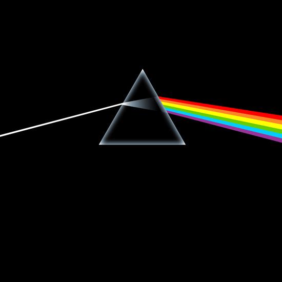 "Обложка альбома Pink Floyd ""dark side of the moon"""