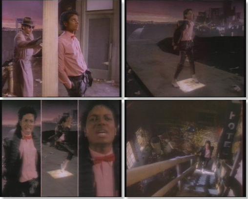 Майкл Джексон, нарезка из клипа Билли Джин