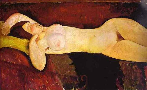 Модильяни. «Большая обнаженная» (1919)