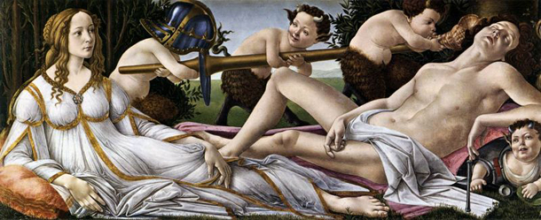 Сандро Боттичелли, «Венера и Марс»
