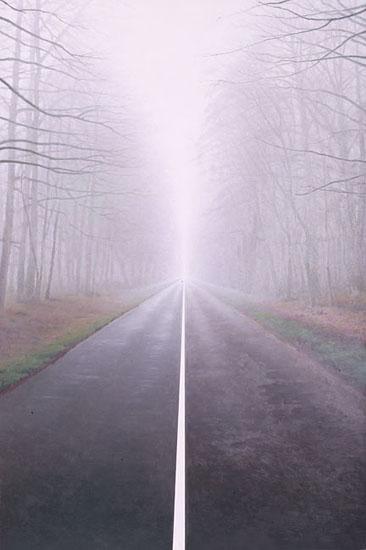 Эрик Булатов «Дорога» (1996)