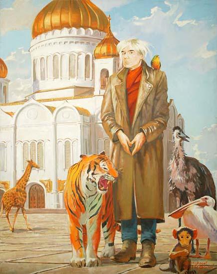 Александр Виноградов, Владимир Дубосарский «Уорхол в Москве» (2000)