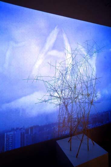 Ладомир. Объекты утопий. Фрагмент инсталляции Леонида Тишкова