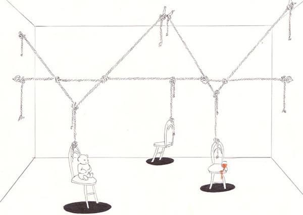 Проект одной из инсталляций Дмитрия Пригова