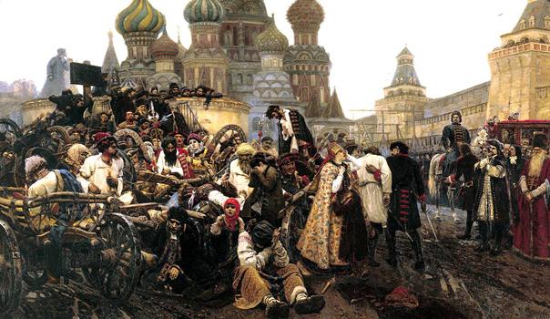 «Утро стрелецкой казни» (1881) Сурикова