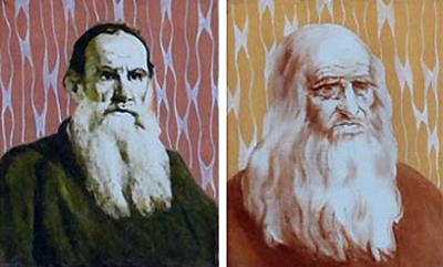 Толстой и Леонардо