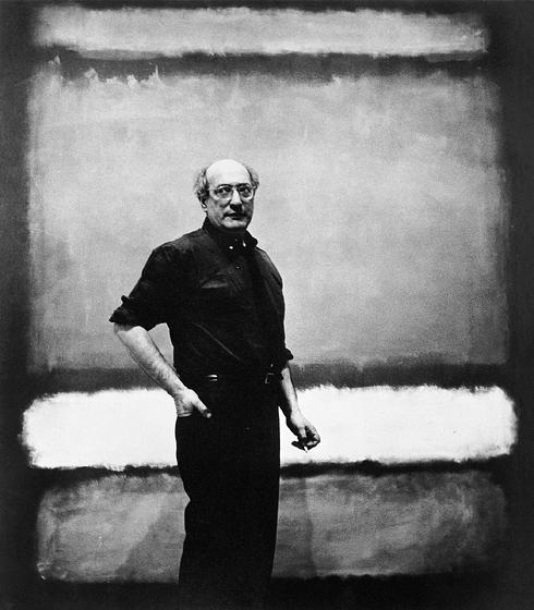 Марк Ротко и одна из его картин