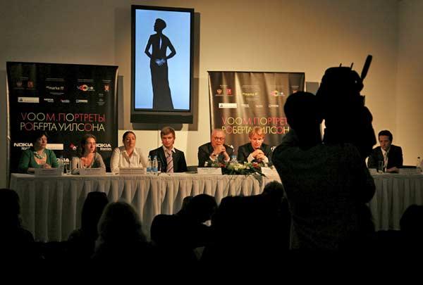 На открытии выставки Портреты VOOM
