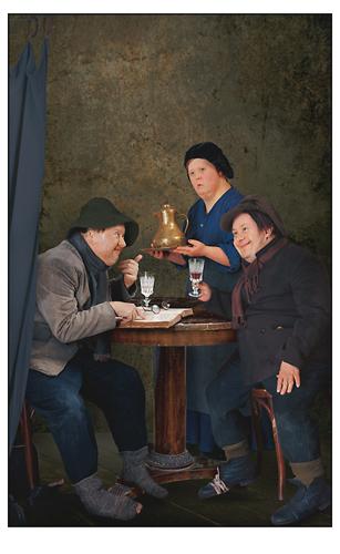 Из серии Ужин в Эммаусе. 2007. Цветное фото. 191х121 каждая. Courtesy Айдан-галерея