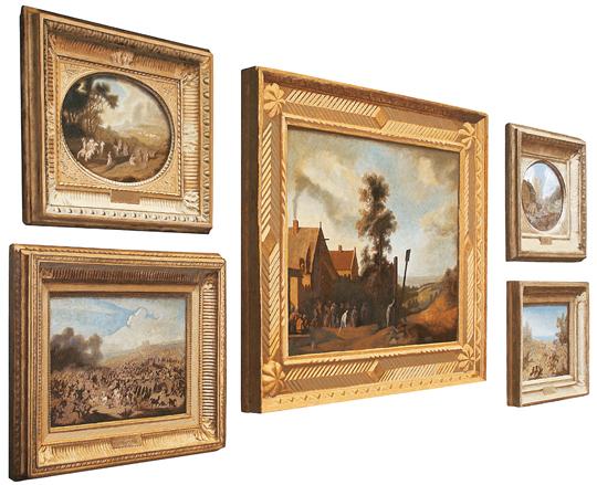 Из серии Перемещеннные ценности/Лувр. 2006–2007. Холст на дереве, масло, свет. Courtesy Айдан-галерея