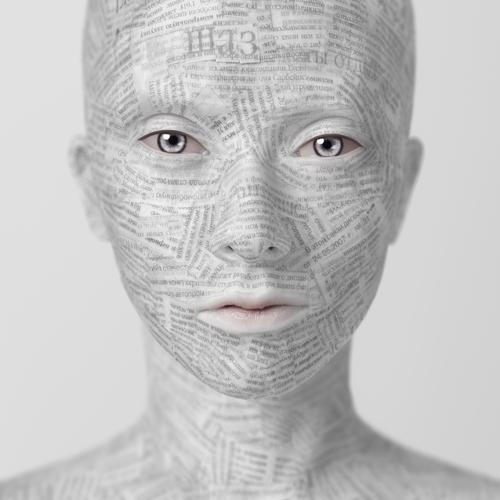 Олег Доу. Из проекта Paper and Paints. 2006–2007. Смешанная техника.