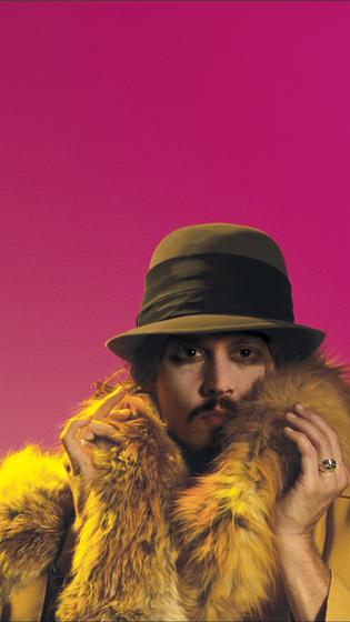 Джонни в мехах. Портрет...