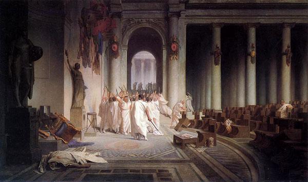 Жан Леон Жером. Смерть Юлия Цезаря