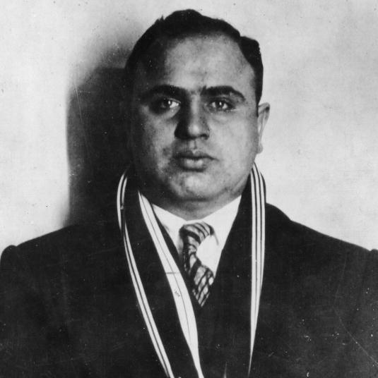 Аль Капоне, американский бандит итальянского происхождения
