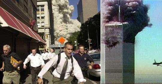 Нью-Йорк. Атака террористов 11 сентября. Был такой американский фильм, снятый значительно раньше этого замечательного события, называется - Армаггедон. Там не атака террористов, там какой-то метеоритный дождь над Нью-Йорком. И негр, потерявший свою собачку и, конечно, не понимающий, что пришел уже полный пиздец, кричит: звоните 9-11.