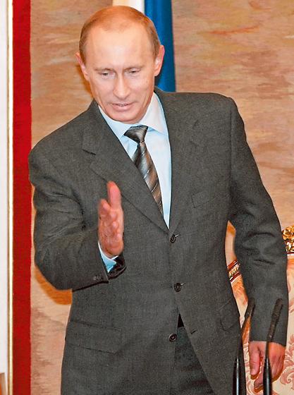 Целеустремленный Путин