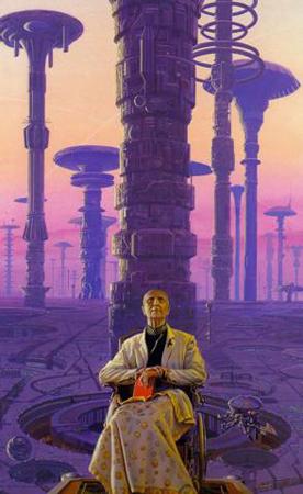 Иллюстрация к романам о Фонде, исполненная Майклом Уэланом