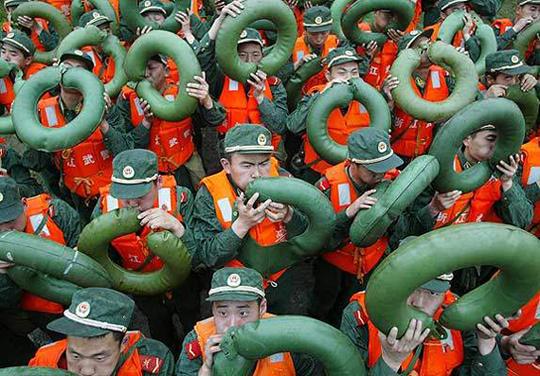 Подготовка Китайской Народной армии к переправе на Тайвань
