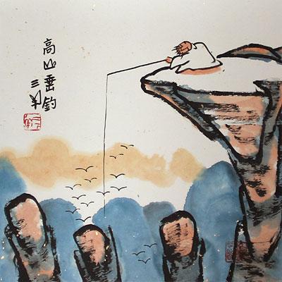 Китайский удильщик