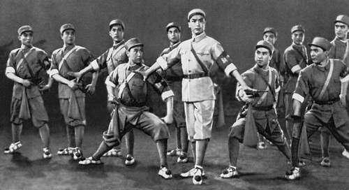 Китайский военный балет