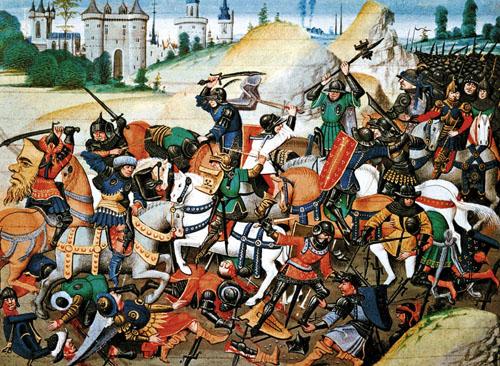 Крестовый поход - это архетипично и очень удобно. Можно ходить куда угодно и с какой угодно целью: отвоевывать наследственный Иерусалим, грабить Константинополь, изничтожать Империю зла, преследовать исламских террористов и т.п.