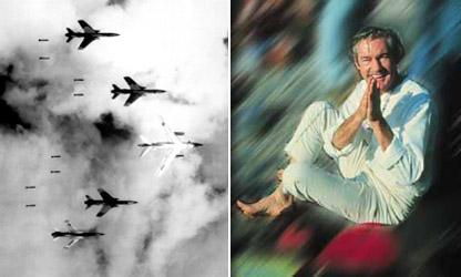 Шестидесятые. Американцы бомбят Вьетнам. Тимоти Лири на Общечеловеческом Собрании Друзей