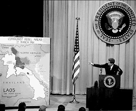 Джон Кеннеди. Индокитай