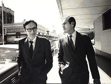 Тимоти Лири и Ральф Мецнер. 1966 год