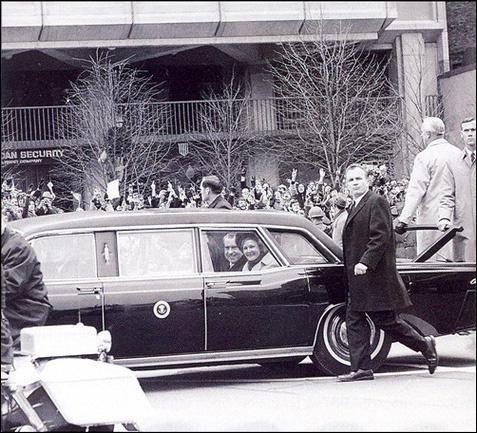 Никсон едет