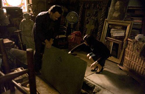 Кадр из фильма Код да Винчи. Поиск тайны Грааля