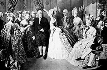 Бенджамин Франклин при французском дворе