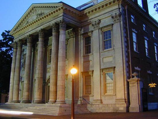 Первый Национальный Банк Соединенных Штатов. Филадельфия