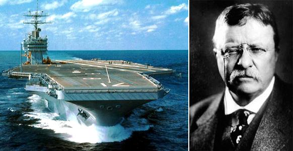 Теодор Рузвельт, авианосец и президент
