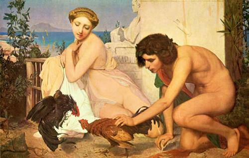 Жан-Леон Жером. Петушиный бой