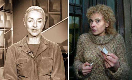 Слева Маша Слоним, справа Елена Трегубова