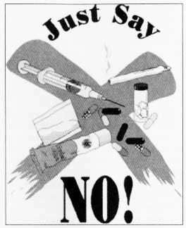 Просто скажи наркотикам: нет! Незатейливо